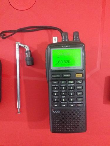 radio escaner icom ic-r20