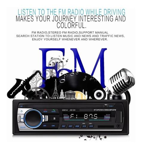 radio estéreo auto 1 din bluetooth manos libres