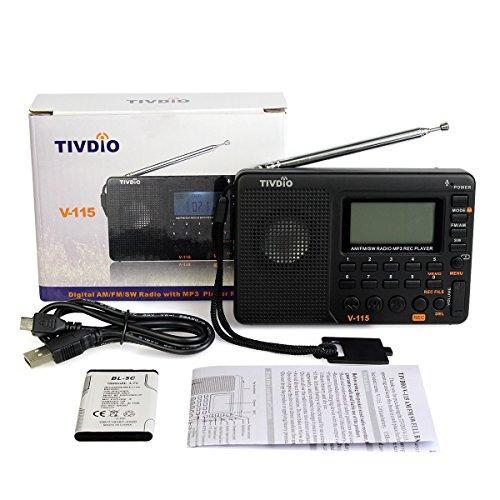 radio estereo portatil am/fm reproductor y grabador de mp3