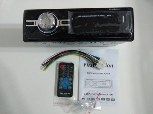 radio firstoption - mp3 player - modelo 6630