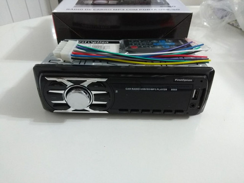 radio firstoption - mp3 player - modelo 6660