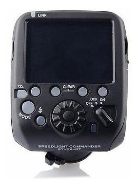 rádio flash speedlite st-ex-rt transmissor canon
