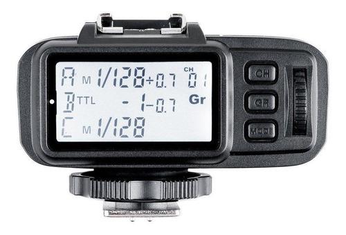 rádio flash ttl godox x1t-c (transmitter)