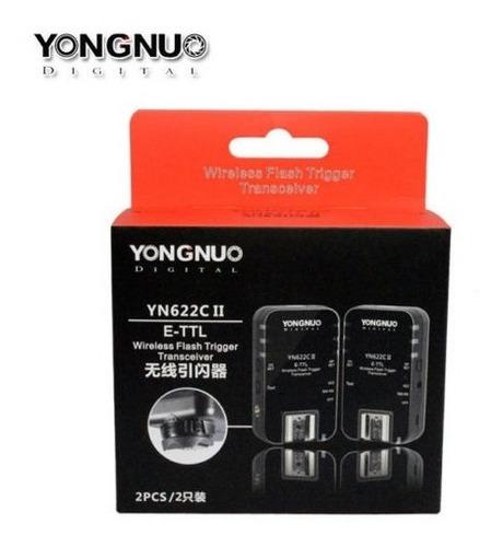 radio flash ttl yongnuo yn-622c il para câmeras canon