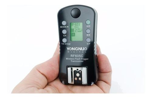 radio flash yongnuo rf 605 c canon 70d 6d t4i t5i t6i rf605