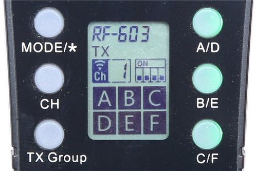 rádio flash yongnuo rf-605n p/ nikon rf605 (par) 12x s/juros