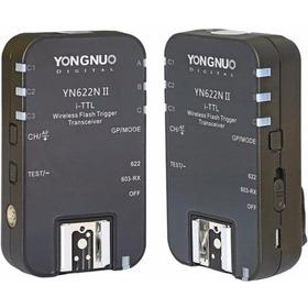 Radio Flash Yongnuo Yn-622n Ii - Nikon Garantia Sem Juros