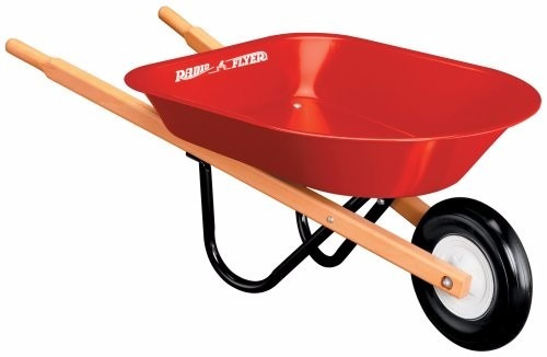 radio flyer kid's wheelbarrow