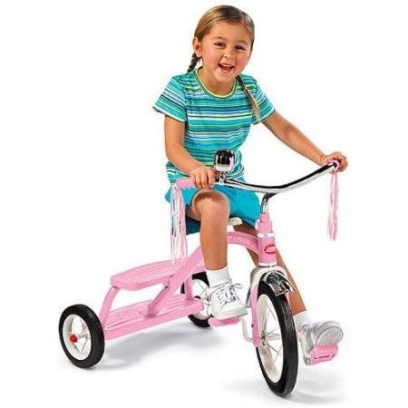 radio flyer triciclo rosadito clásico enviogratis