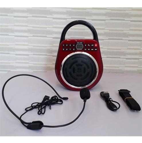 radio fm digital usb sd caixa de som led megafone gravador