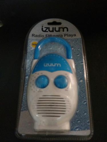radio fm para baño o playa