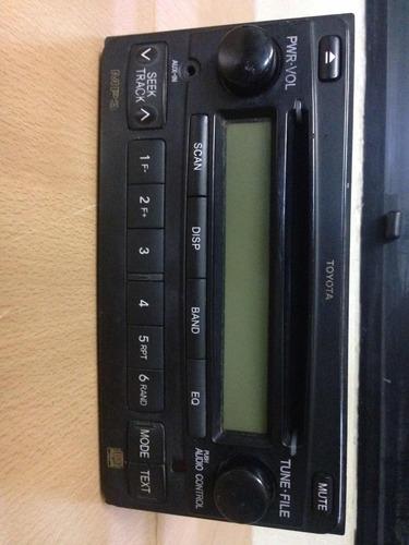 radio fm/am/cd's original toyota hilux año 2011 al 2015