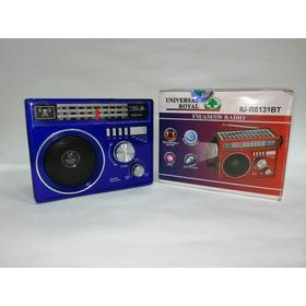 Radio Fm/am/sw Bluetooh Linterna