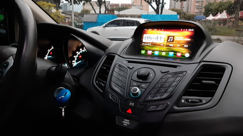 radio ford fiesta se dvd gps original  2014-2017 android