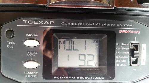 rádio futaba t6exap - r$ 460,00