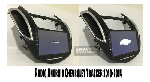 radio gps android 10  para chevrolet tracker 2010-2014