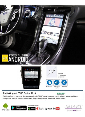 radio gps original ford fusion 2013- 2019 12 pulgadas