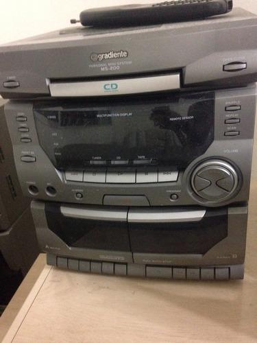 radio gradiente antigo