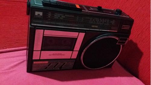 radio gravador panasonic antigo
