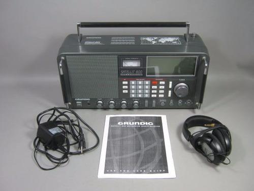 radio grundig & el mejor escaner multibanda del mundo!
