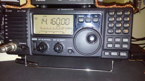 rádio hf icom ic 718