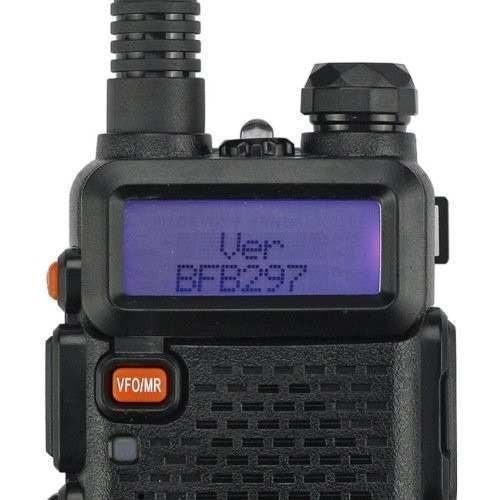 radio ht dual band(uhf+vhf) baofeng uv-5r + fone