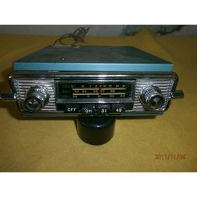 Rádio Intertron 6 Volts. Funcionando Beleza. Ano 1965.