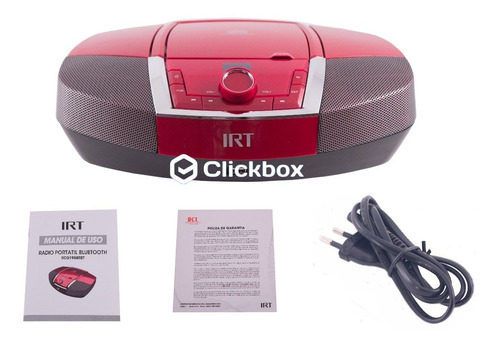 radio irt bluetooth cd mp3 sintonizador digital clickbox