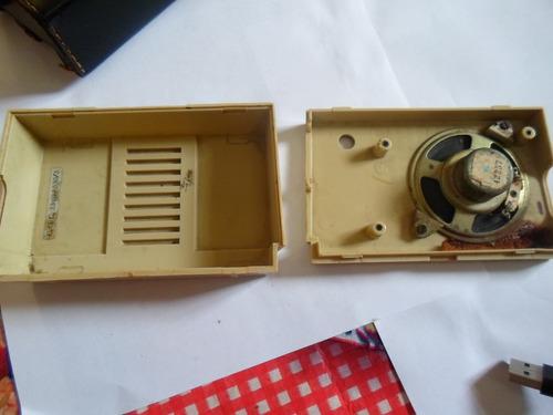 radio juliette somente capa de couro e caixa impecavel raro