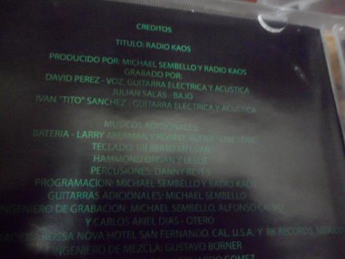 radio kaos cd homonimo