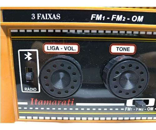 radio madeira companheiro som da roça perfeito entrada usb