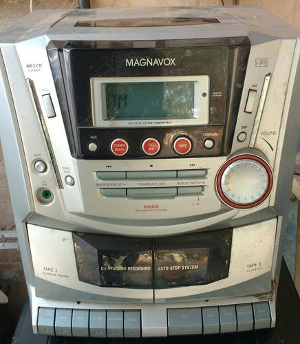 rádio magnavox mas 65/21 não funciona p/ conserto ou peças