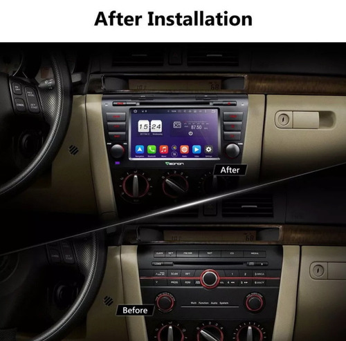 radio mazda 3 2002-2014 original gps wifi 3g dvd android 8.0