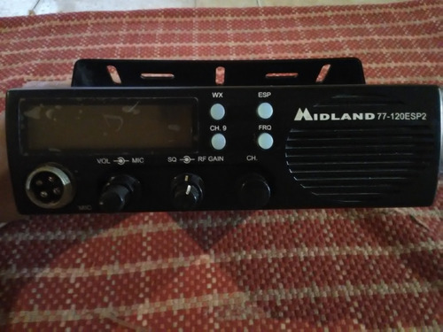 radio midland modelo 220 sin microfono