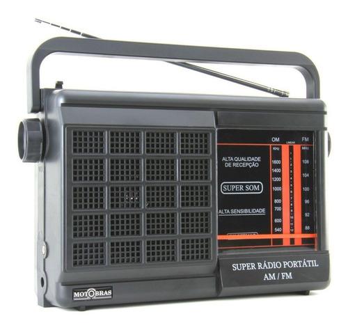 rádio motobrás rm-pft22ac 2 faixas am fm