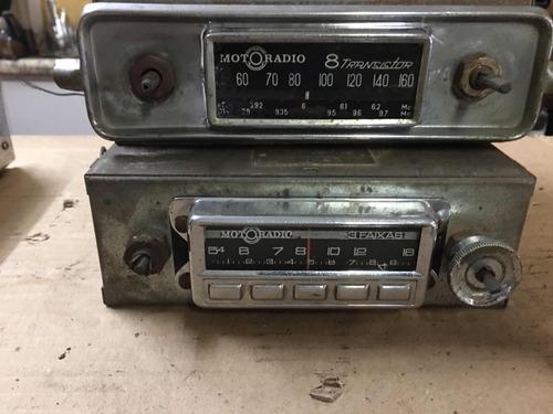 rádio motoradio 8 transistor valor unitário 3 faixas antigo