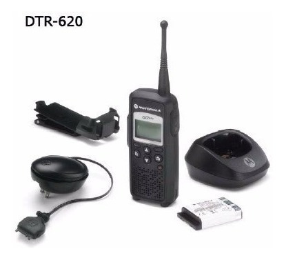 radio motorola digital dtr620 portátil de 2 vías dtr 620