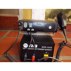 Radio Motorola Em-200 Y Regulador Power Dvp-1212 Vhf