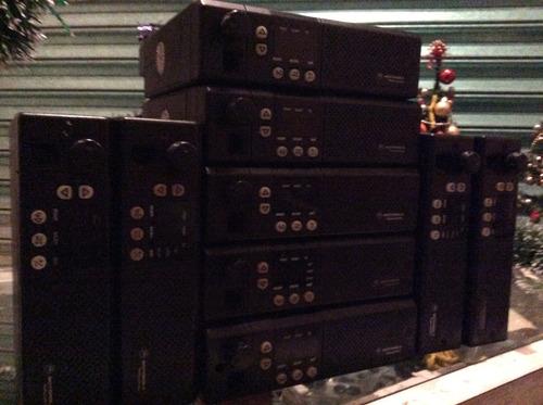 radio motorola gm300 movil vhf--uhf 45 watts y 8 canales