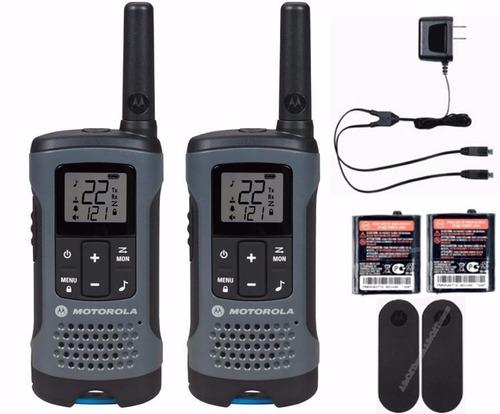 rádio motorola talkabout t460mc até 56km walkie talkie