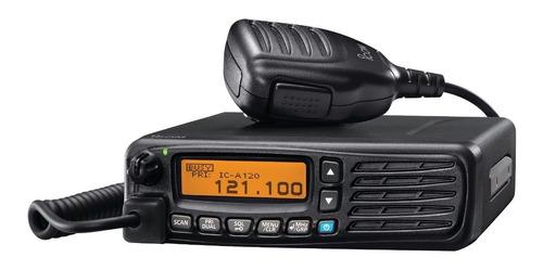 radio móvil aéreo 118.000-136.992 mhz, 200 canales   ic-a120