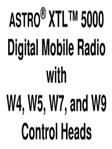 radio móvil astro digital xtl5000 motorola