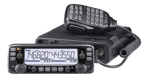 radio móvil doble band vhf/uhf, 137-174/400-470  ic2730a/05