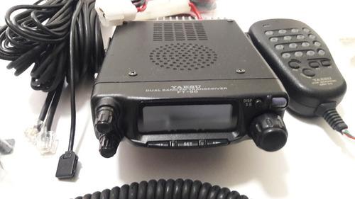 radio movil doble banda aficionado  vhf/uhf   ft-90r   yaesu