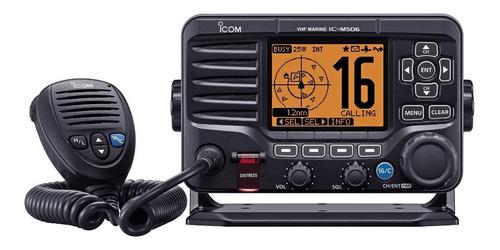radio móvil marino, 25 watts ais, dsc,  ic-m506/21   icom