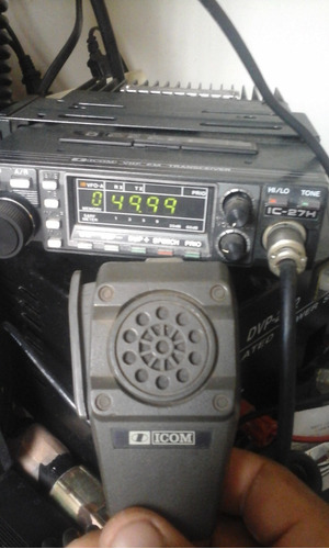 radio movil vhf ic27 h