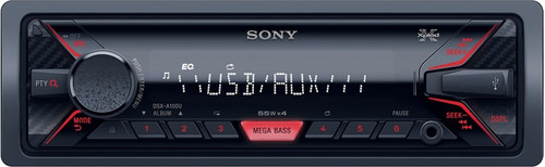 rádio mp3 player sony xplod dsx-a35u c/ entrada usb e aux