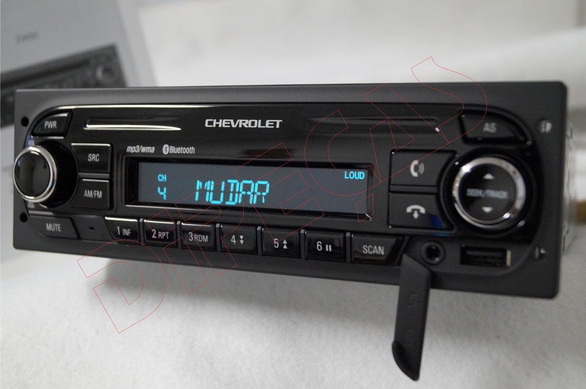 Radio Mp3 Usb Bluetooth Auxiliar Original Chevrolet Sem Cd - R$ 299