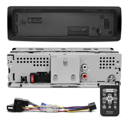 radio mp3 usb mvhs108ui + 4 auto falante pioneer t1760br