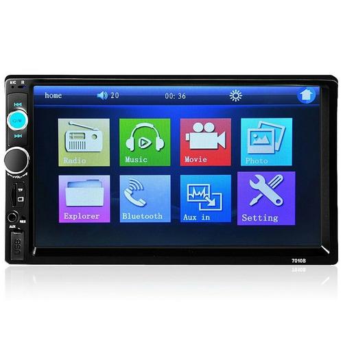 radio mp5 pantalla táctil 7'' doble din bluetooth multimedia